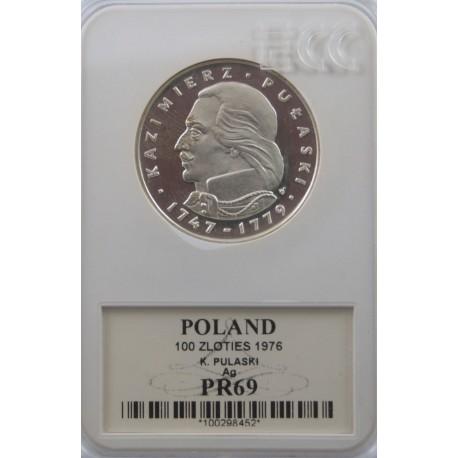 100 zł Pułaski 1976, GCN PR69
