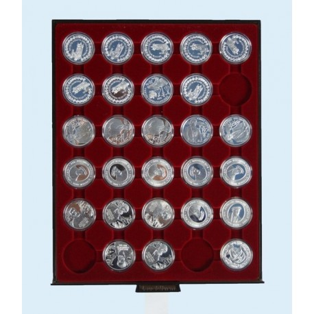 Kaseta do monet 10 zł firmy Leuchtturm (MB CAPS 32)