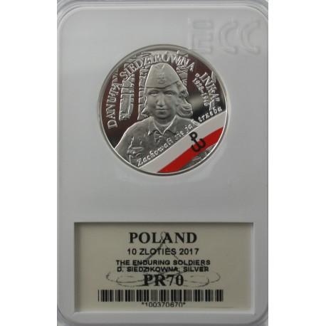 10 zł Inka 2017 PR70