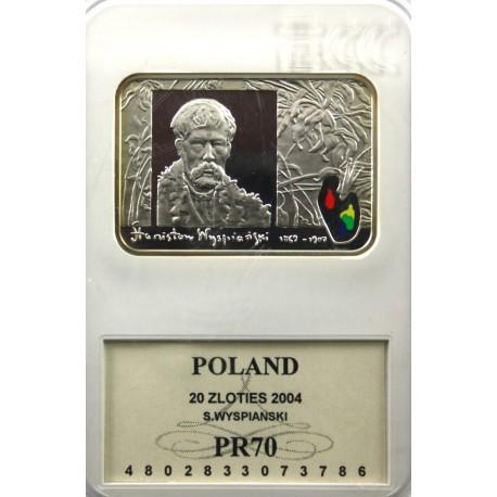20 zł, Stanisław Wyspiański, GCN, PR70