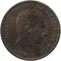 Hiszpania 5 centymów, 1878