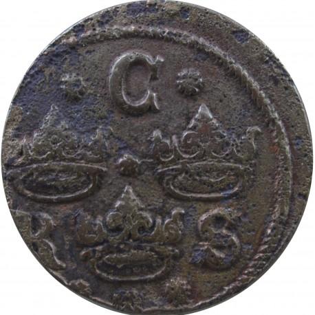 Szwecja, ¼ Öre, Krystyna, 1635
