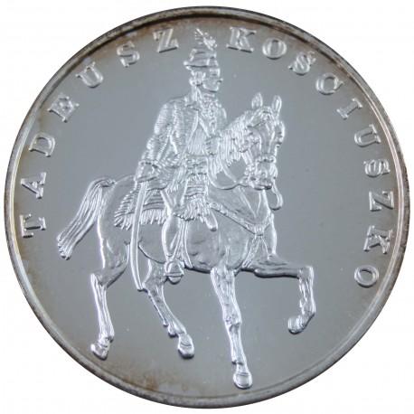 100 000 zł, Tadeusz Kościuszko - Mały tryptyk 1990