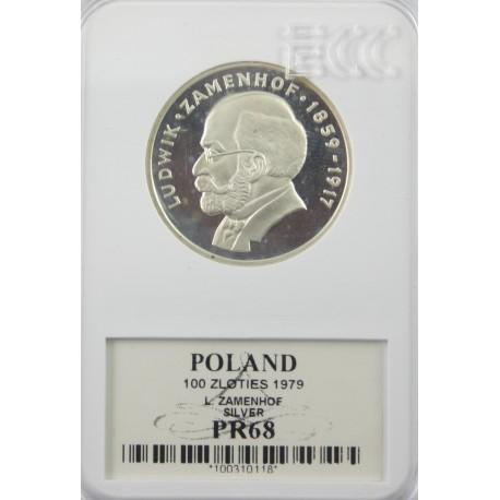 100 zł Ludwik Zamenhof 1979 PR68