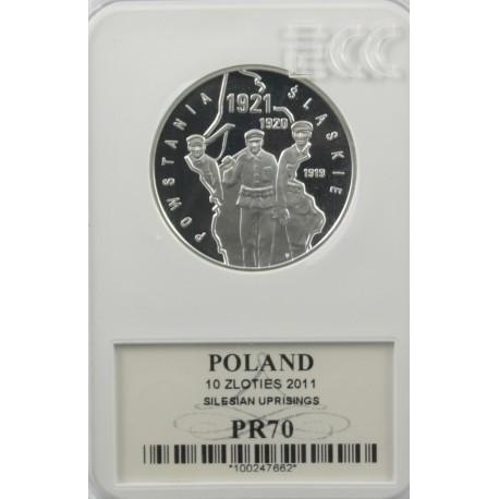 10 zł Powstania Śląskie PR70