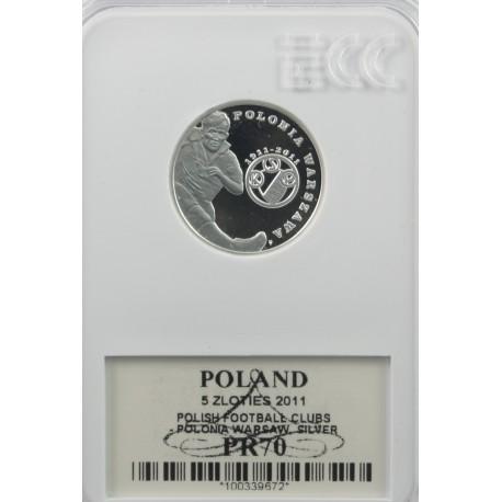 5 zł Polonia Warszawa PR70