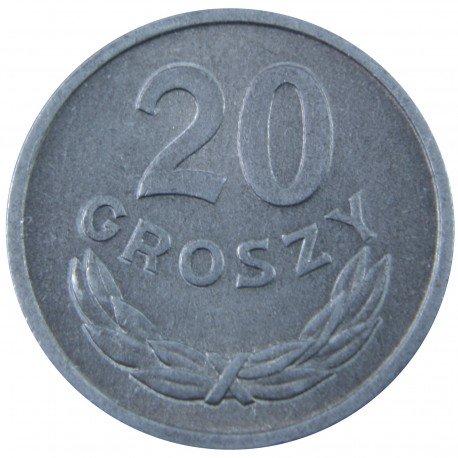 20 groszy 1961, stan 1-