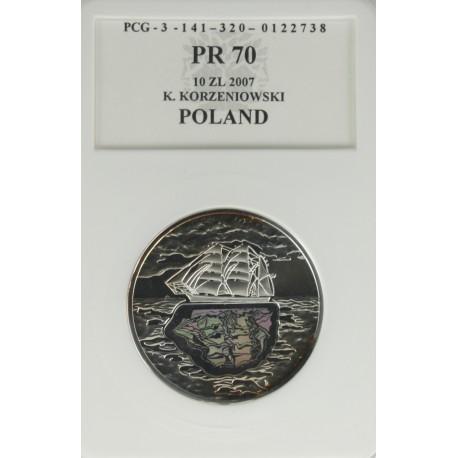 10 zł Konrad (Conrad) Korzeniowski PR70