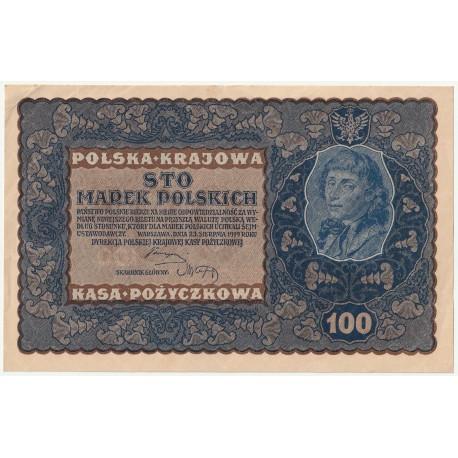 100 marek 1919, IE Seria C, Nr 265669, stan 2