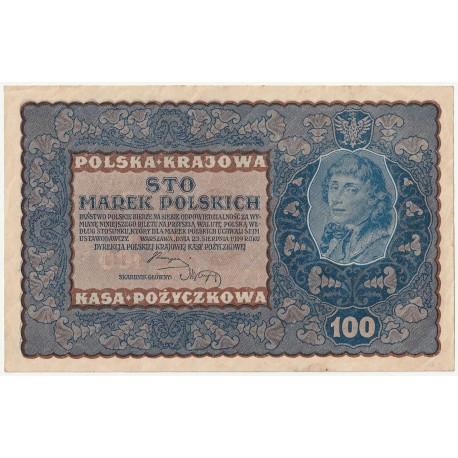 100 marek 1919 stan 3, IA Serja W 634485