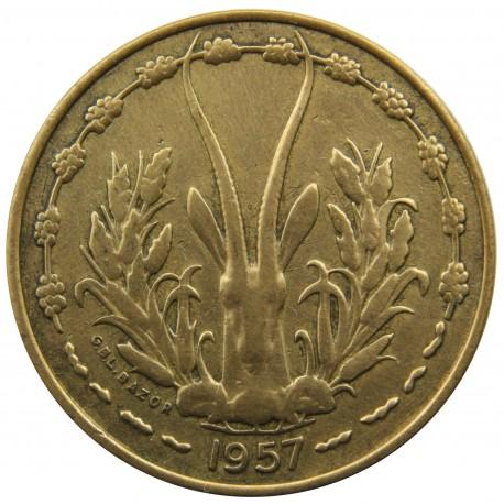 Francuska Afryka Zachodnia 10 franków, 1957, stan 1-