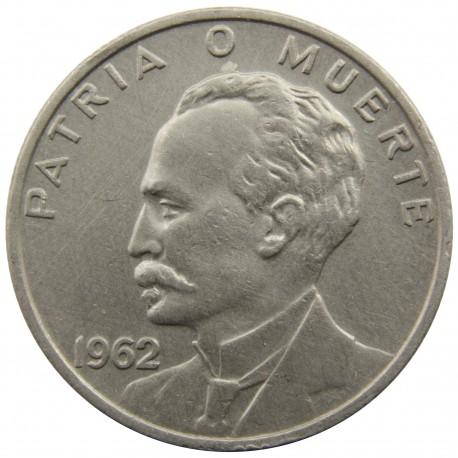 Kuba 20 centavos, 1962, stan 2