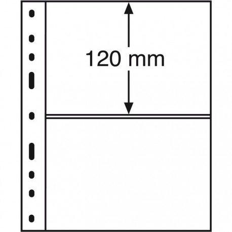 Koszulka do banknotów OPTIMA, 2 okna, przezroczysta