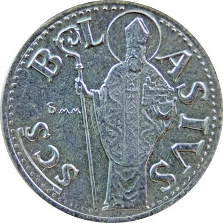 Medal - Chorwacja Dubrovnik - Św Błazej, srebro