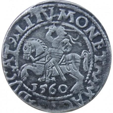 Półgrosz litewski, Zygmunt II August, Wilno 1560