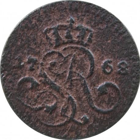 Polska, 1/2 grosza (półgrosz) 1768, Stanisław August Poniatowski