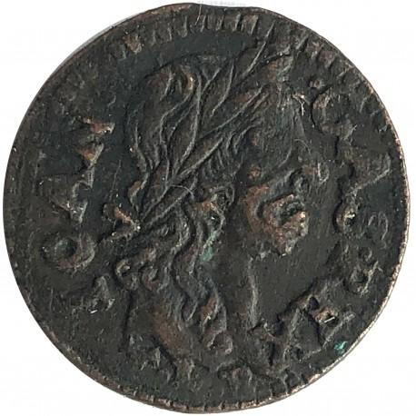 Szeląg koronny (boratynka) 1665, Jan Kazimierz