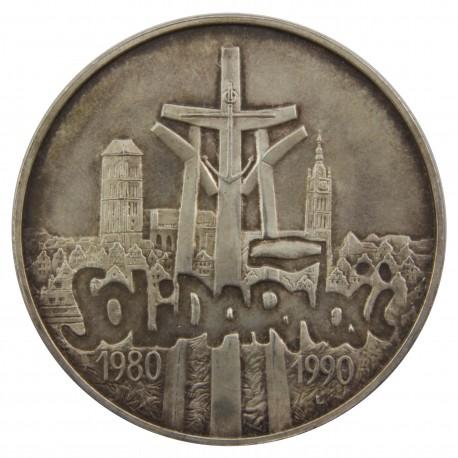 100000zł Solidarność typ A, Stan 2, nalot
