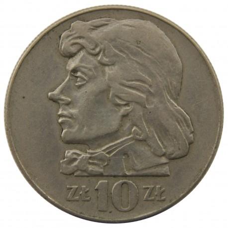10zł Kościuszko, 1970, stan 3