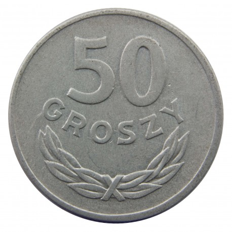 50 groszy 1957, stan 2