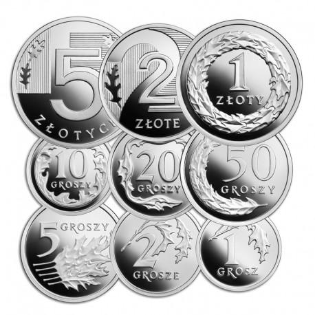 100 lat złotego (zestaw srebrnych monet)