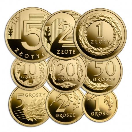 100 lat złotego (zestaw złotych monet)