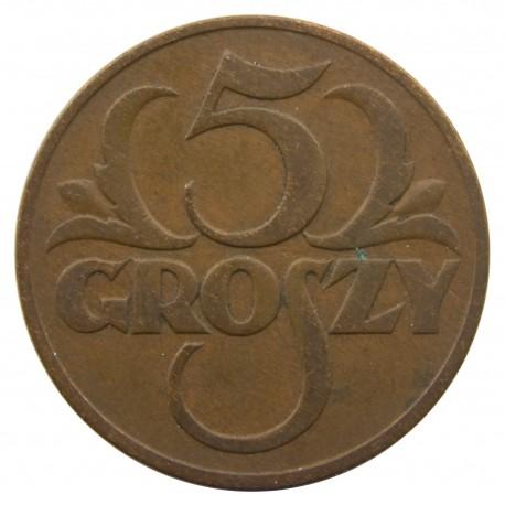 5 groszy 1931, stan 2-