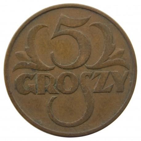 5 groszy 1937, stan 2