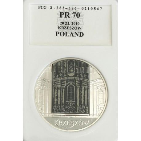 20 zł, Krzeszów - zabytki kultury materialnej, PR70