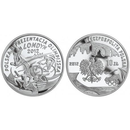 10 zł, Polska Reprezentacja Olimpijska Londyn 2012