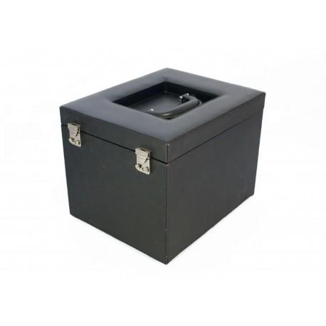 Kuferek do przechowywania 10 kaset firmy Leuchtturm, EKO - powystawowy