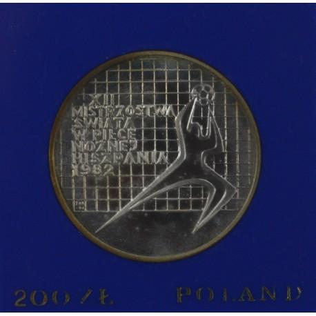200 zł, Mistrzostwa Świata w Piłce Hiszpania 1982