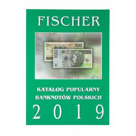 Katalog popularnych banknotów polskich Fischer 2019
