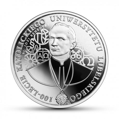 10 zł 100-lecie Katolickiego Uniwersytetu Lubelskiego