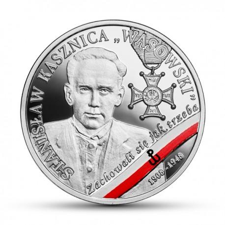 """10 zł Wyklęci przez komunistów żołnierze niezłomni - Stanisław Kasznica """"Wąsowski"""""""