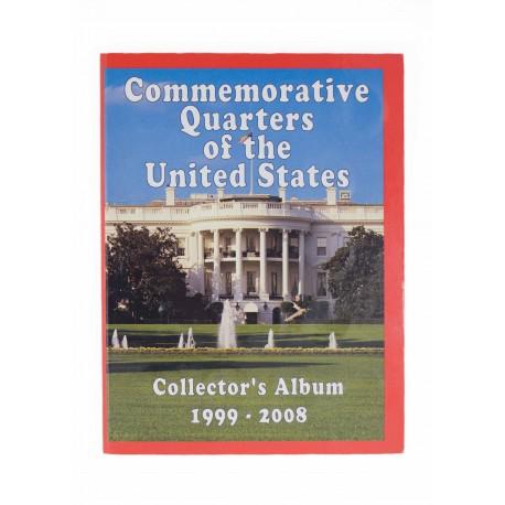 Zestaw 51 ćwierćdolarówek USA w albumie, 1999-2008
